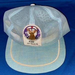 Full Mesh Elks Charlottesville VA Vintage Hat Rad!